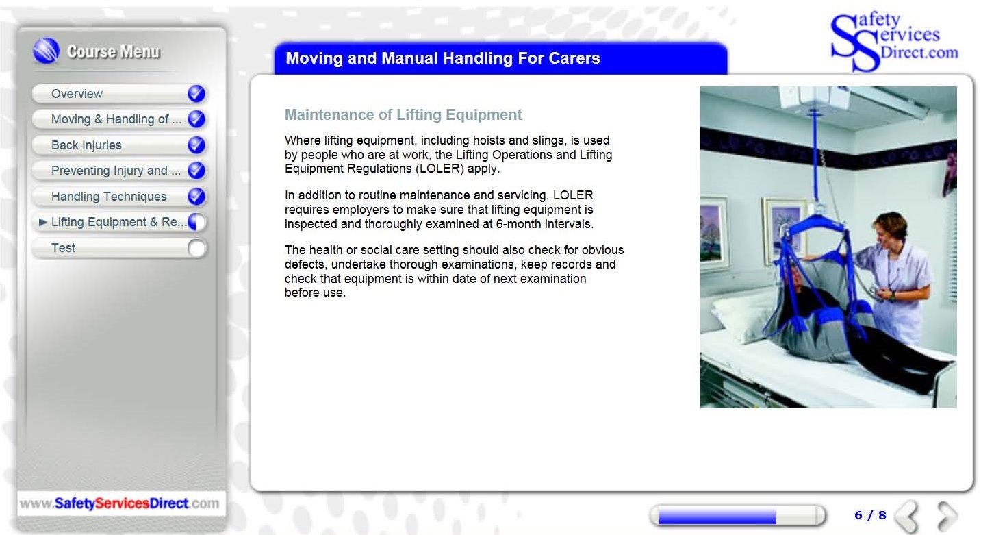 Moving And Manual Handling Training For Carers Amp Care